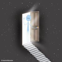 Death is just a door