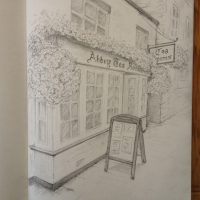 Day 24 - Abbey Tea Rooms