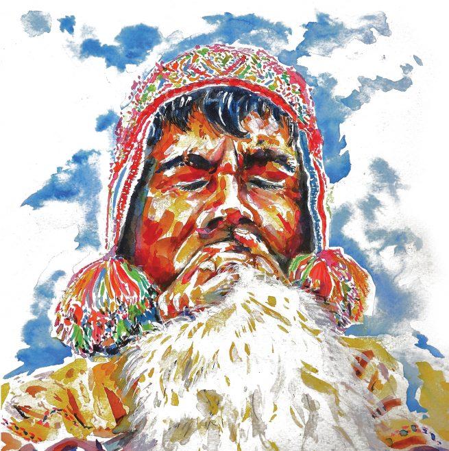 andean-maestro-3-ceremonial-illustrated-greetings-card-matt-witt-illustration