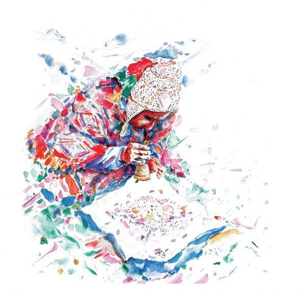 andean-maestro-ceremonial-illustrated-greetings-card-matt-witt-illustration