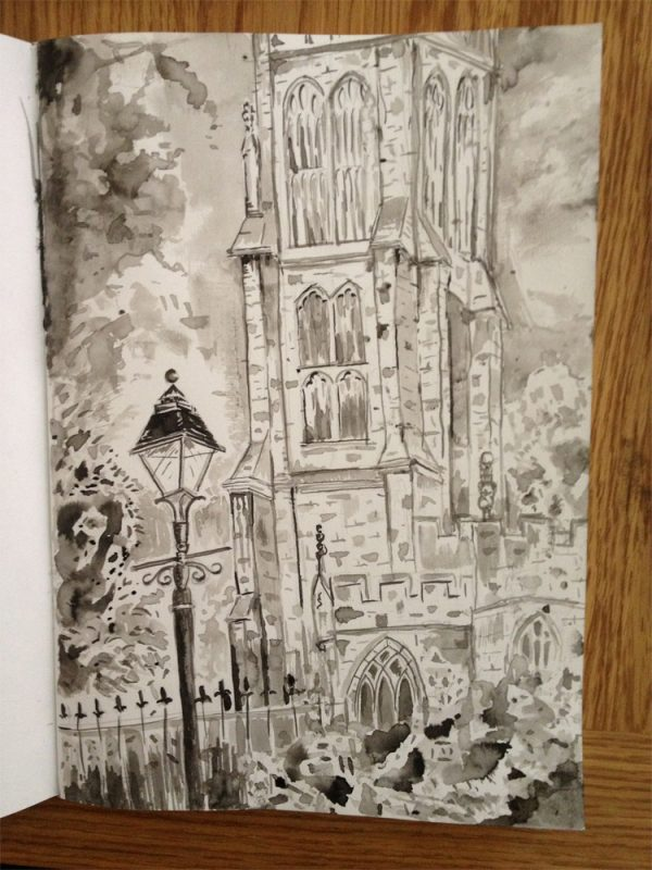 Day 2 - St John's Church Glastonbury