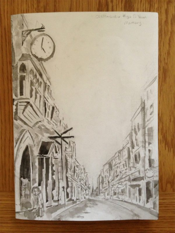 Day 14 - High St from memory