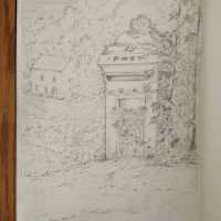 Day 23 - Old Post box and coach house