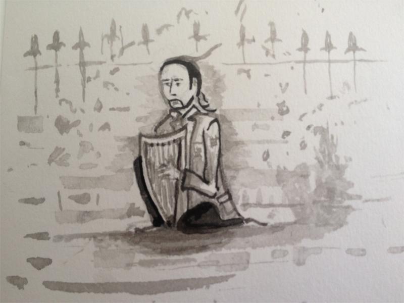 Day 5 - Harpist