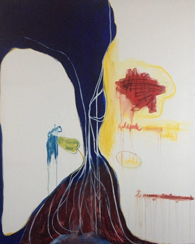 It's Raining Dissolving Words - Sarah Nabarro
