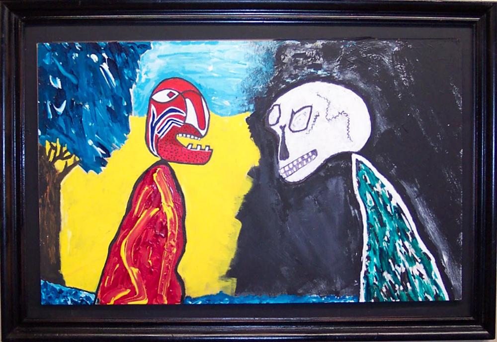 Maximilian Meets Mr Death - Salvador Campos