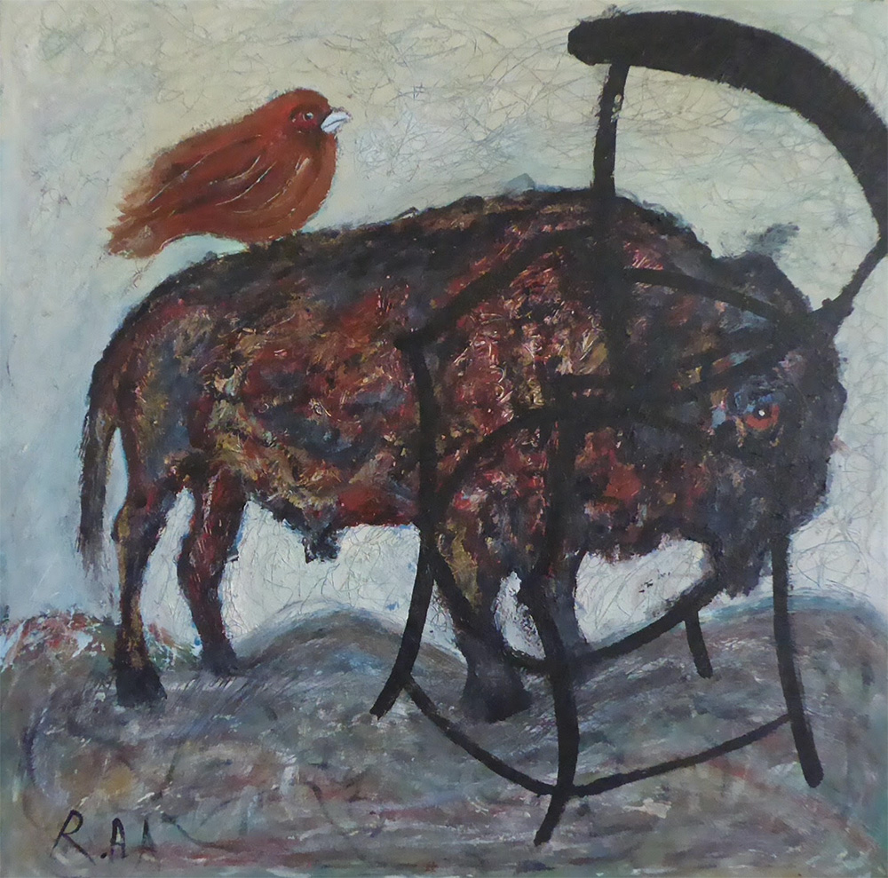 Bird, Buffalo and the Black Chair - Rawan Adwan