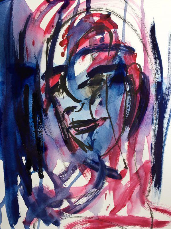 Still Blue Sea Beneath the Waves - Sarah Nabarrro