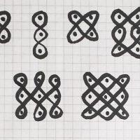 Fig 2b Kolam Dots