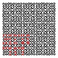 Fig 2c Fibonacci Kolam Looped