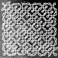 Fig 3 Kavitha Paramasivan - Kolam Art Primordial Rhythm