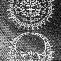 Fig 9 Kavitha Paramasivan Kolam - Art Sun Moon