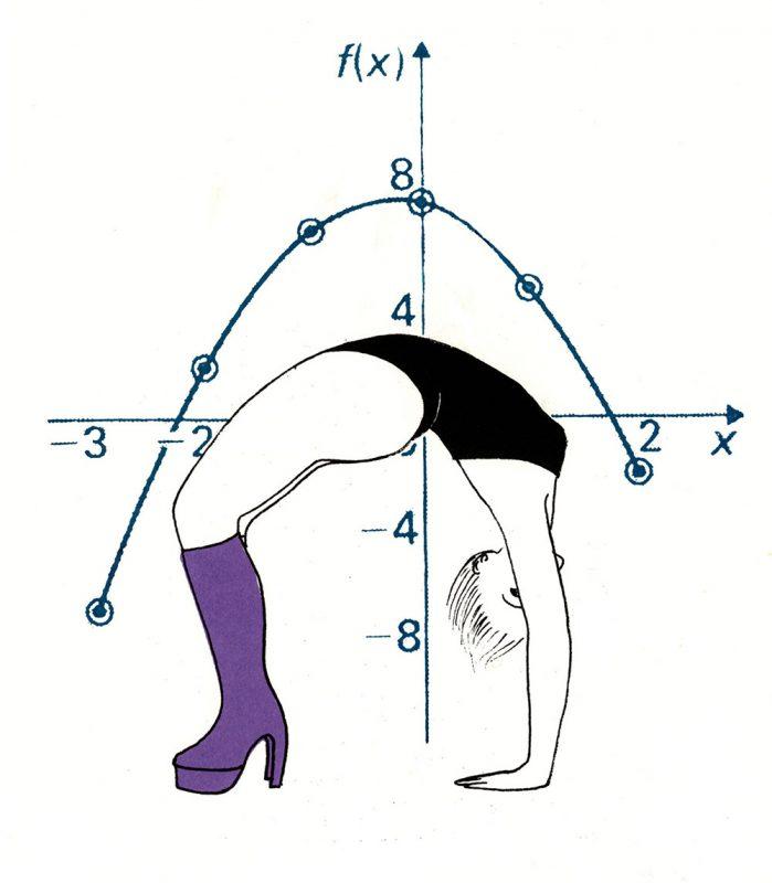 Mary Rouncefield - Quadratic boots