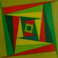 Nina Valetova - Abstract n1, oil painting
