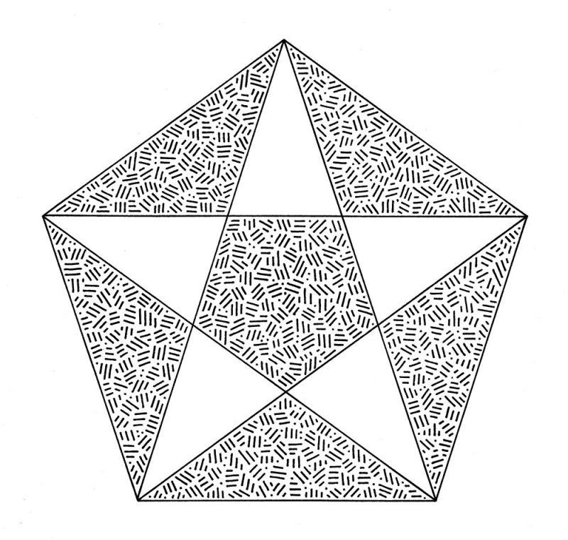 Alaric Hobbs - Golden ratio pentagon
